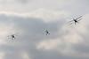 Viering 100 Jaar Internationale Vliegweek in Temse - Zondag 16 september 2012<br /> Overvlucht 3 tweedekkers van voor WOII - Stampe-Vertongen