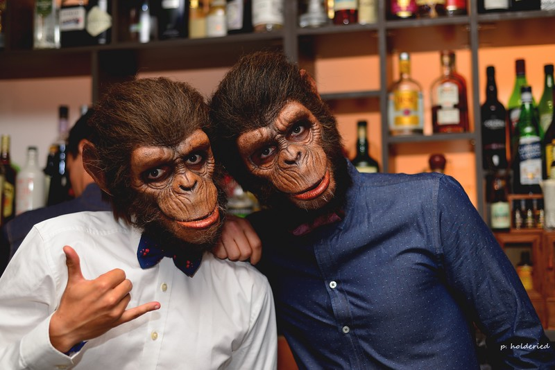 Duff et Stewart au By Coss Bar à Montpellier