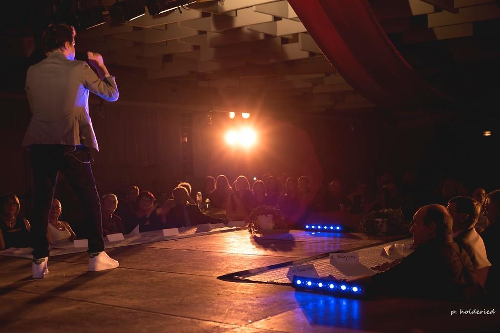 Sébastien Lorca sur scène