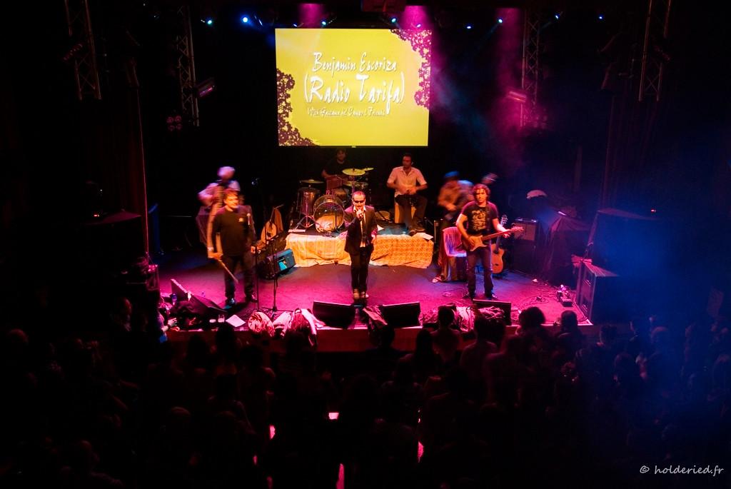 Radio Tarifa sur scène en live
