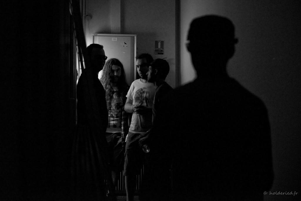 Pankstars backstage - photographe concerts montpellier