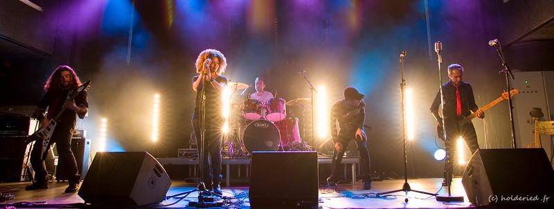 Pankstars en concert sur scène en live - photographe concerts montpellier