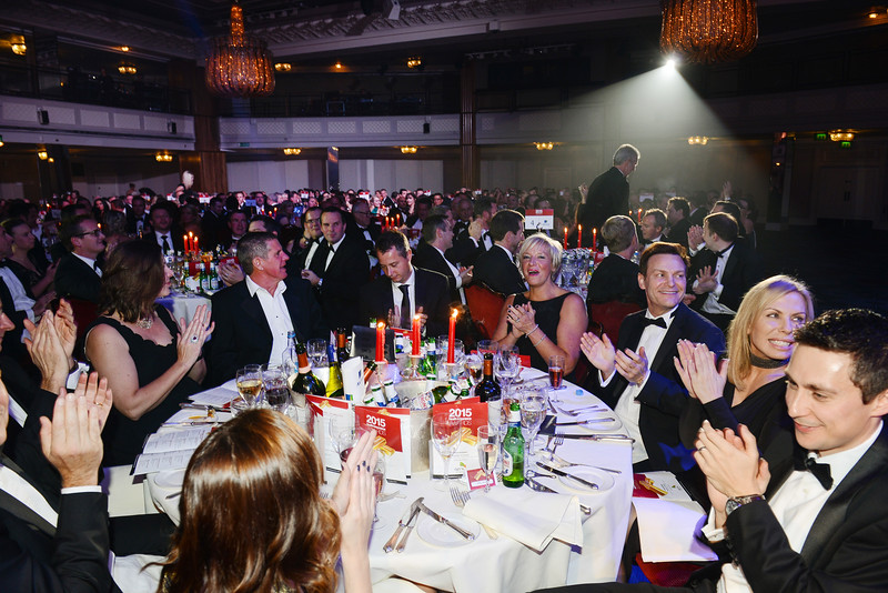 Health Insurance Awards 2015 at the Grosvenor House Hotel