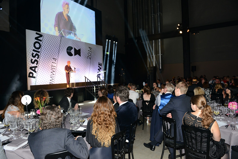 Creative Head IT & MW awards at Tate Modern 2014