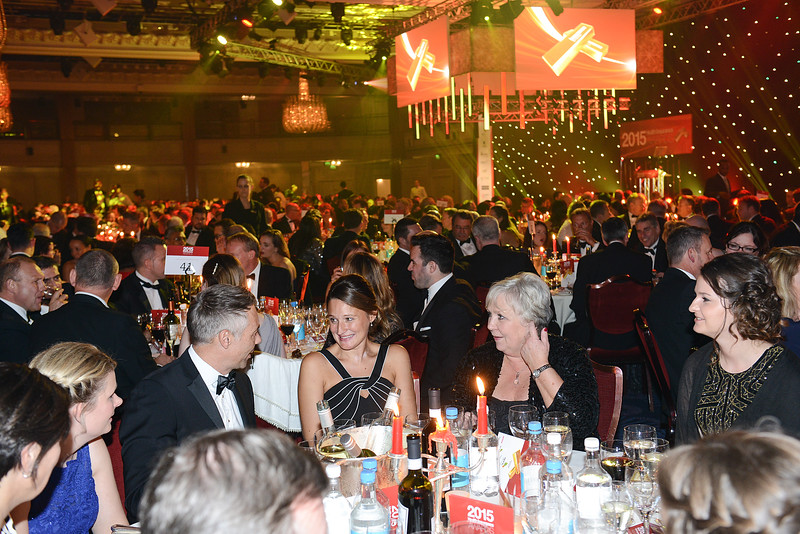 Health Insurance Awards 2015 at the Grosvenor House Hotel