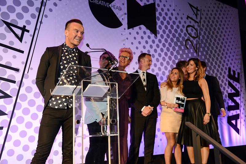 Creative Head IT & MW Awards 2014