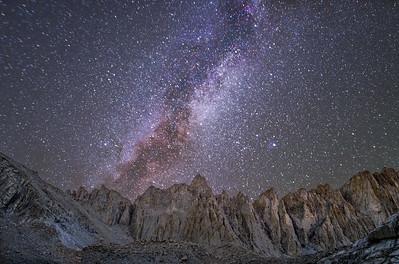 Open Space Over Mt. Muir