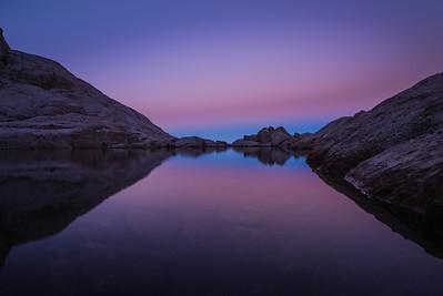 Evening at a Mountain Lake