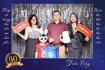 Chụp ảnh lấy liền và in hình lấy liền từ photobooth tại sự kiện sinh nhật 60 tuổi | Instant Print Photobooth at 60-year Birthday party | PRINTAPHY - PHOTO BOOTH VIETNAM