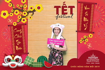 Dịch vụ in ảnh lấy liền & cho thuê photobooth tại sự kiện tiệc tất niên trường quốc tế AAVN | Instant Print Photobooth Vietnam at AAVN Tet Festival