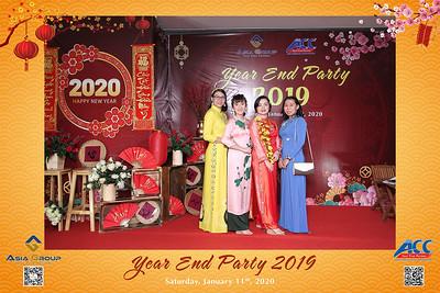 Dịch vụ in ảnh lấy liền & cho thuê photobooth tại sự kiện tiệc cuối năm công ty ACC | Instant Print Photobooth Vietnam at ACC YEP