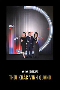 Dịch vụ in ảnh lấy liền & cho thuê photobooth tại sự kiện Tiệc mừng AIA Premier Night | Instant Print Photobooth Vietnam at AIA Premier Night