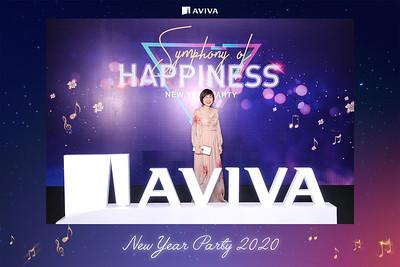 Dịch vụ in ảnh lấy liền & cho thuê photobooth tại sự kiện tiệc cuối năm công ty Aviva | Instant Print Photobooth Vietnam at Aviva Year End Party