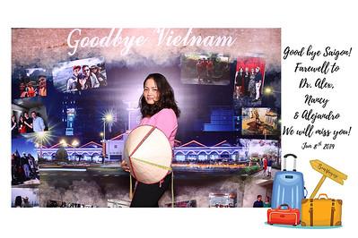 Chụp ảnh lấy liền và in hình lấy liền từ photobooth/photo booth tại sự kiện tiệc chia tay Alex, Nancy & Alejandro | Instant Print Photobooth/Photo Booth at Alex, Nancy & Alejandro Farewell Party