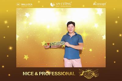 Dịch vụ in ảnh lấy liền & cho thuê photobooth tại sự kiện tiệc cuối năm của công ty An Cường | Instant Print Photobooth Vietnam at An Cuong YEP