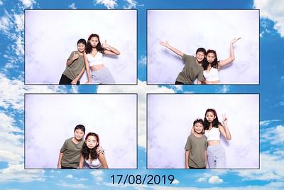 Dịch vụ in ảnh lấy liền & cho thuê photobooth tại tiệc sinh nhật Angelina | Instant Print Photobooth Vietnam at Angelina's Birthday