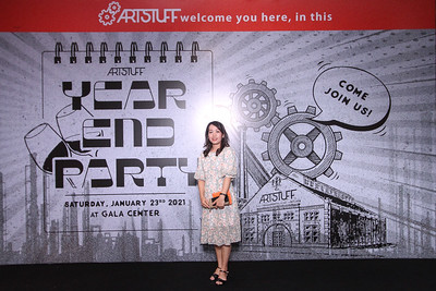 Dịch vụ in ảnh lấy liền & cho thuê photobooth tại sự kiện Tiệc tất niên Công ty Artstuff | Instant Print Photobooth Vietnam at Artstuff Year End Party