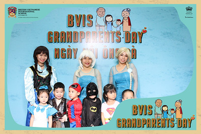 Chụp ảnh lấy liền và in hình lấy liền từ photobooth/photo booth tại sự kiện ngày ông bà của trường BVIS | Instant Print Photobooth/Photo Booth at BVIS Grandparents' Day | PRINTAPHY - PHOTO BOOTH VIETNAM