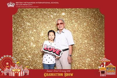 Dịch vụ in ảnh lấy liền & cho thuê photobooth tại sự kiện tốt nghiệp khóa học hè trường BVIS | Instant Print Photobooth Vietnam at BVIS Summer School Graduation