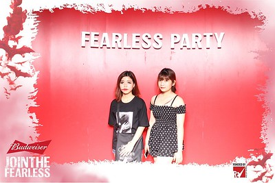 Event - Budweiser Fearless Party 2017