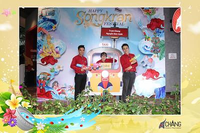 Dịch vụ in ảnh lấy liền & cho thuê photobooth tại sự kiện Mừng lễ hội Songkran của nhà hàng Chang | Instant Print Photobooth Vietnam at Chang Restaurant's Songkran Festival