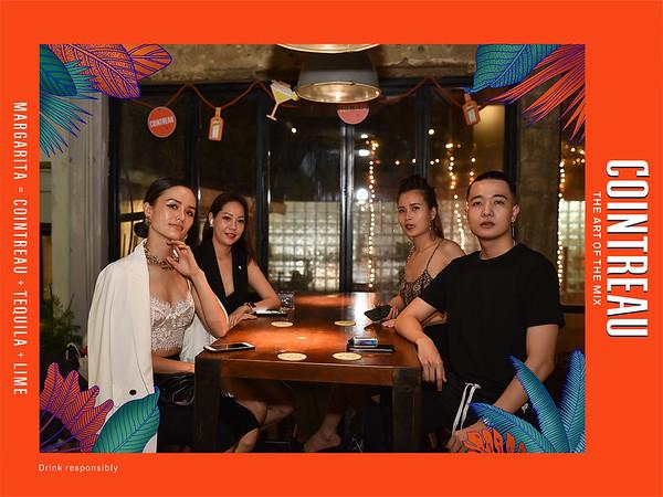 Dịch vụ in ảnh lấy liền & cho thuê photobooth tại sự kiện tiệc giáng sinh của Cointreau | Instant Print Photobooth Vietnam at Cointreau Christmas