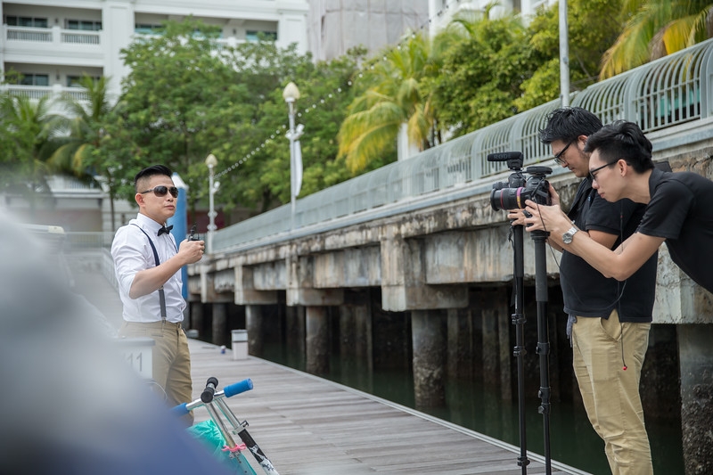 Behind the Scenes of Event Video Shooting