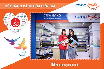 Dịch vụ in ảnh lấy liền & cho thuê photobooth tại sự kiện kỷ niệm 30 năm Coop Mart và giới thiệu siêu thị Coop Smile   Instant Print Photobooth Vietnam at Coop Smile Activation - Coop Mart 30th Anniversary (Day 2)