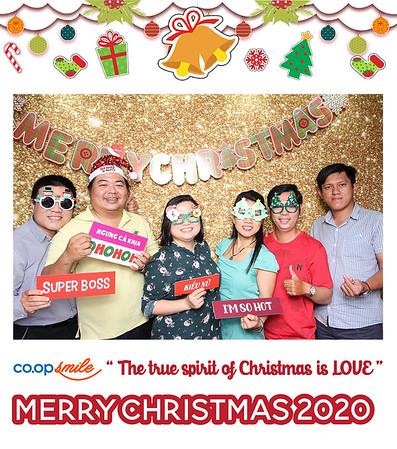Dịch vụ in ảnh lấy liền & cho thuê photobooth tại sự kiện tiệc giáng sinh của Coop Smile | Instant Print Photobooth Vietnam at Coop Smile Christmas