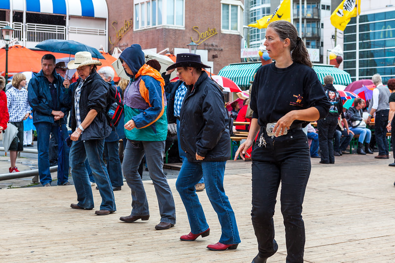 Line Dancing - Country Festival - 2012