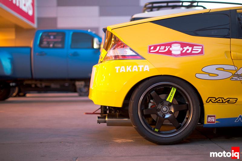 Spoon Sports Honda CRZ for 25 Hours of Thunderhill