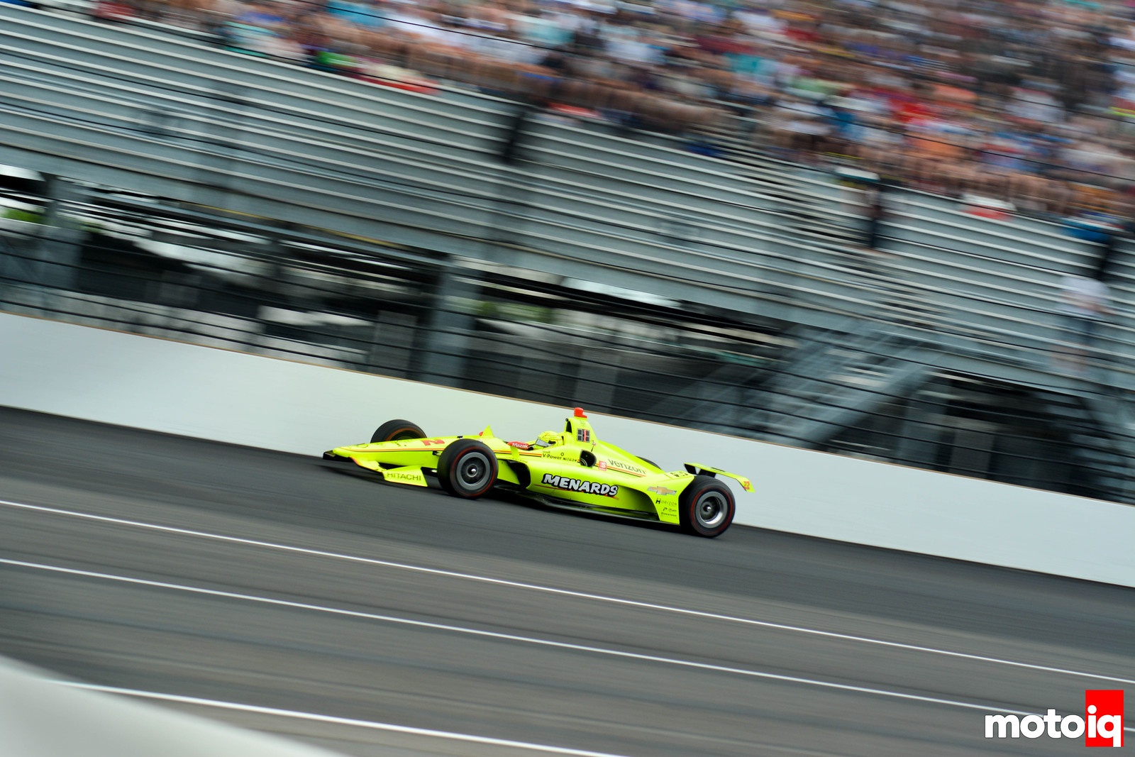 Simon Pagenaud Leading