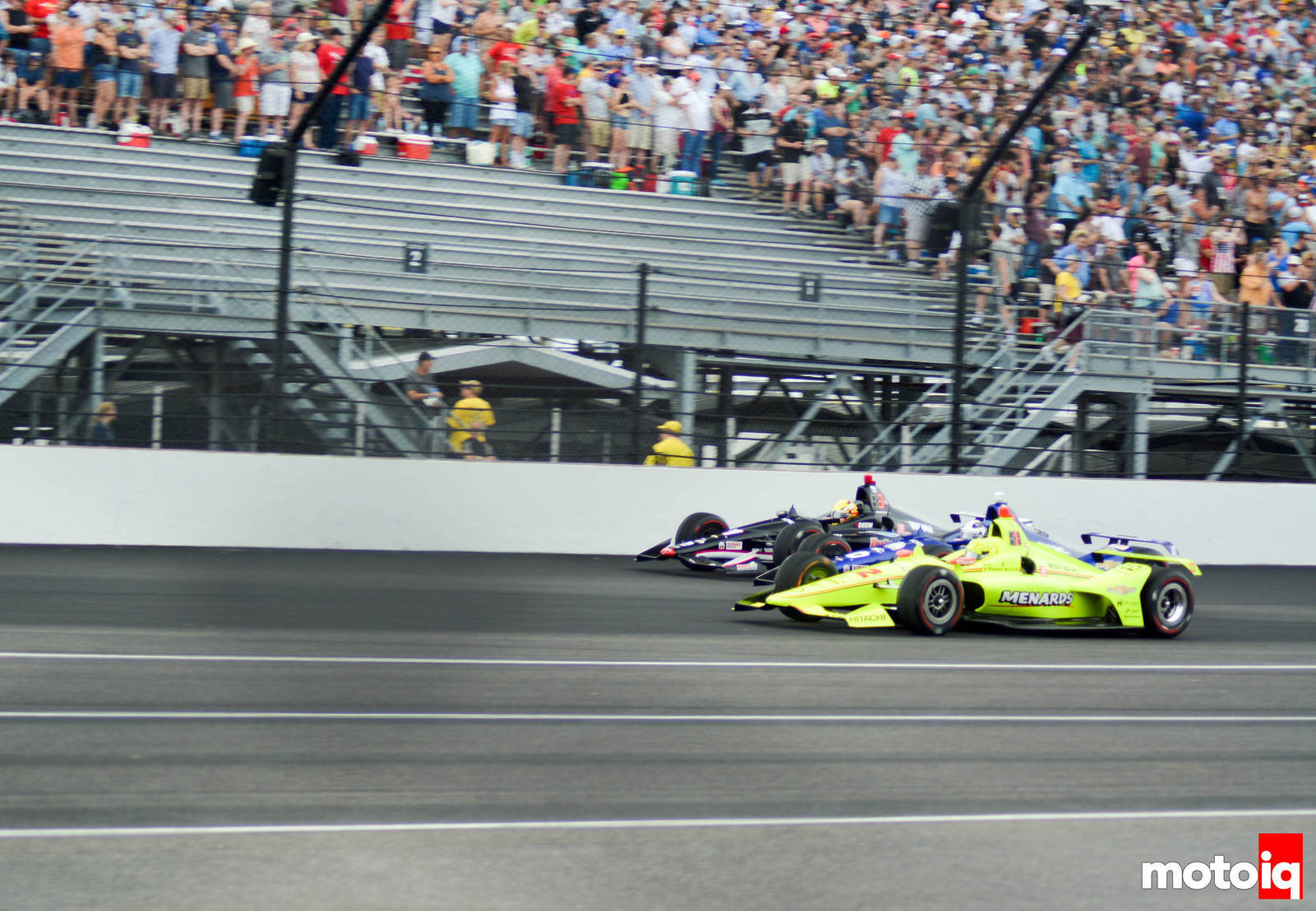 2019 Indy 500 Front Row