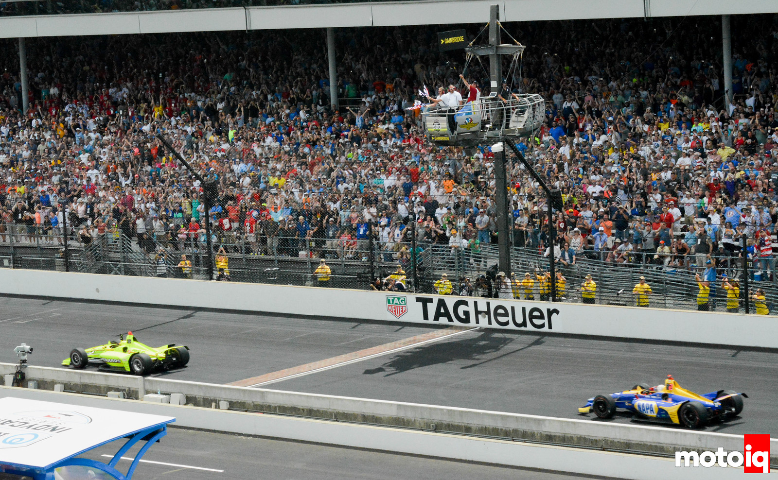 Simon Pagenaud Winning