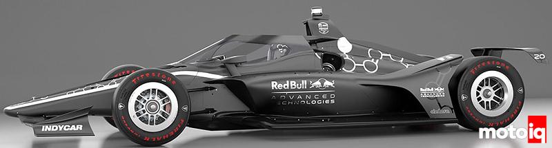IndyCar Aeroscreen Side View