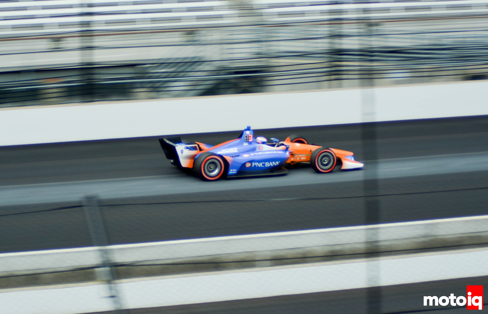 Scott Dixon Qualifying