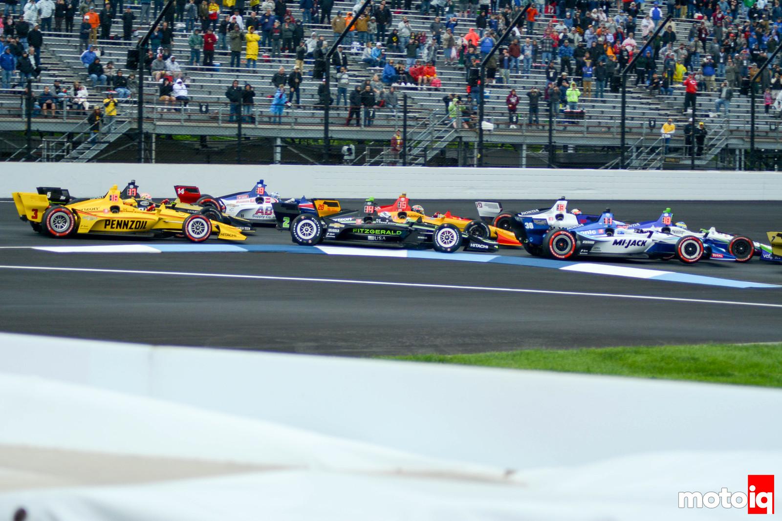 IndyCar GP Start