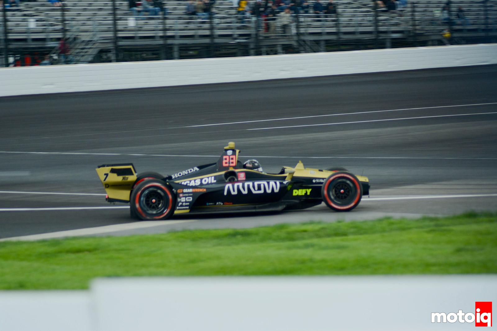 Marcus Ericsson Crash
