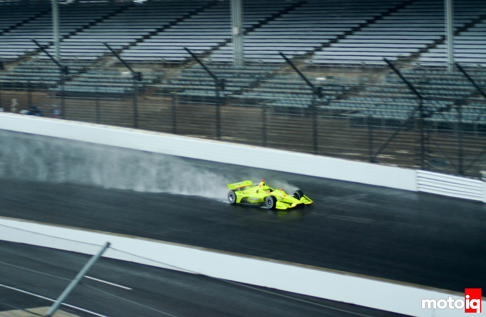Simon Pagenaud in the Rain