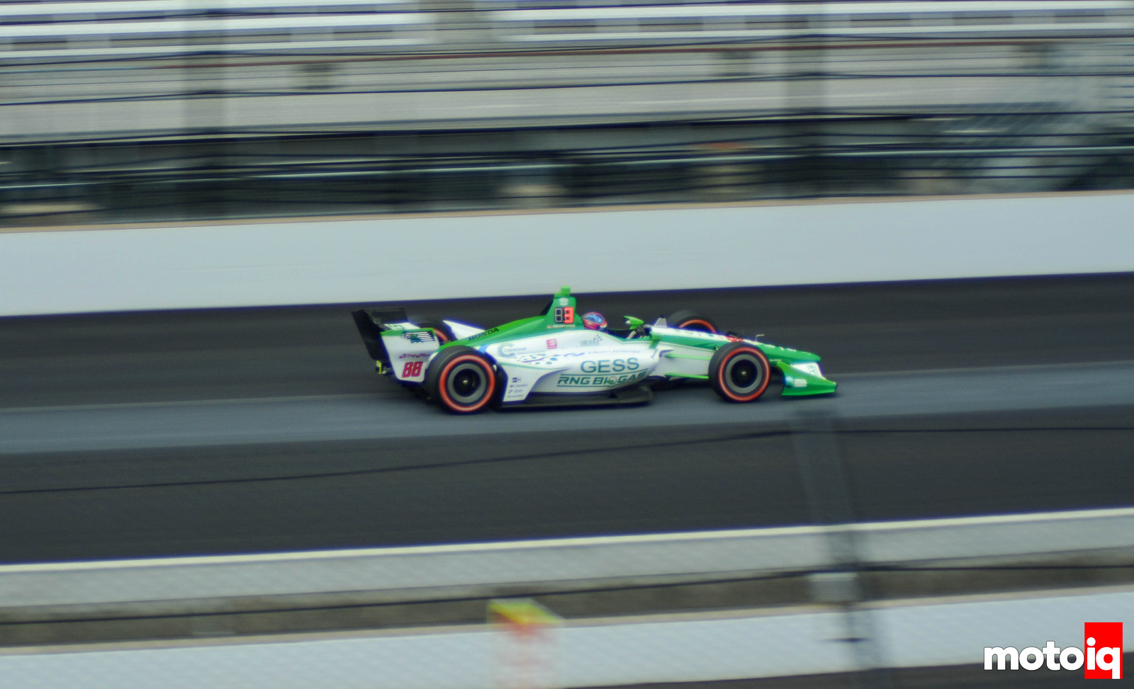 Colton Herta Qualifying