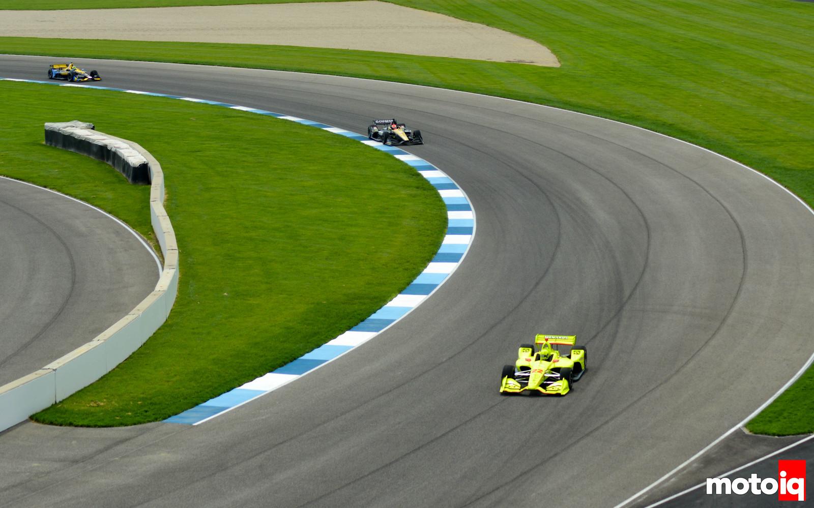 Simon Pagenaud Race