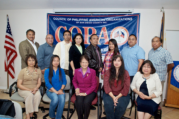 Council of Philippine American Organizations of San Diego County (2013)