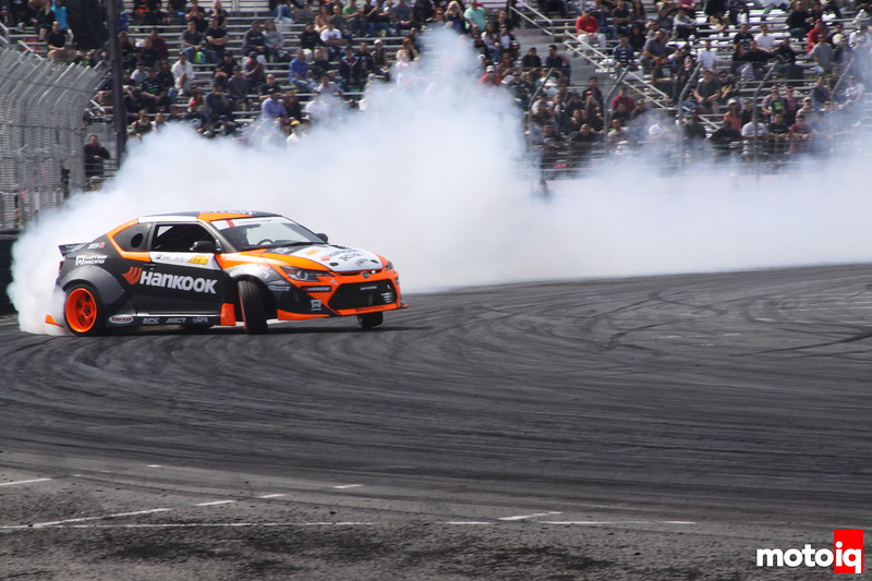 Formula Drift Long Beach 2014 qualifying