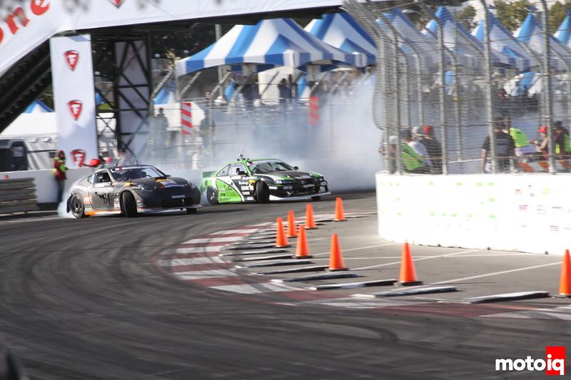 Formula Drift Long Beach 2014 Round 1