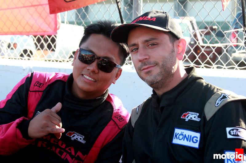 Dennis Mertzanis and Cyrus Martinez