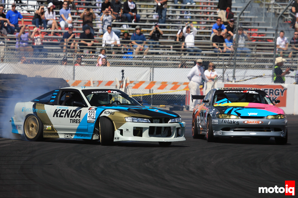 Formula Drift Round 1 Long Beach