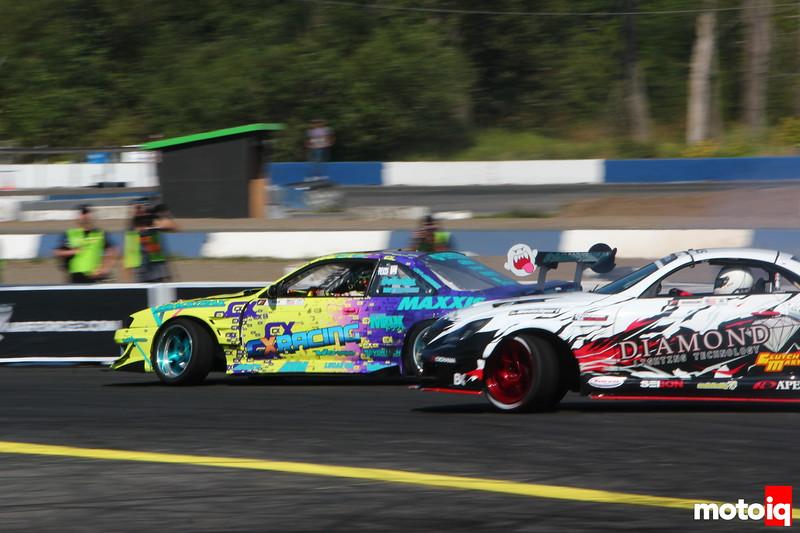 Matt Field Pat Mordaunt Evergreen Speedway