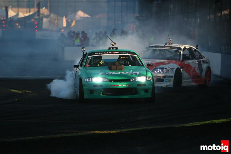 Darren McNamara Mike Essa Evergreen Speedway