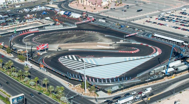 Vegas track