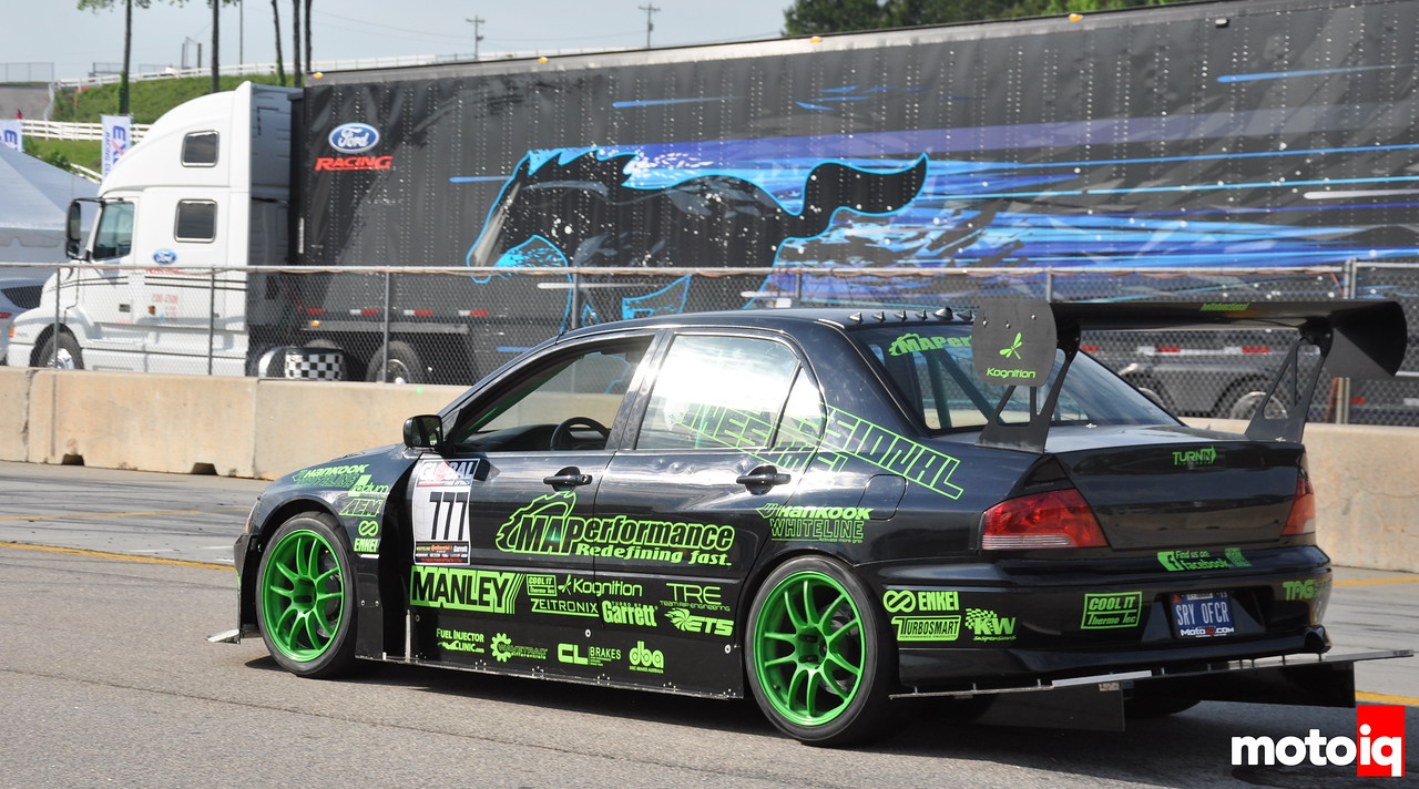 Global Time Attack Road Atlanta Professional Awesome Evo VII Modern Automotive Performance